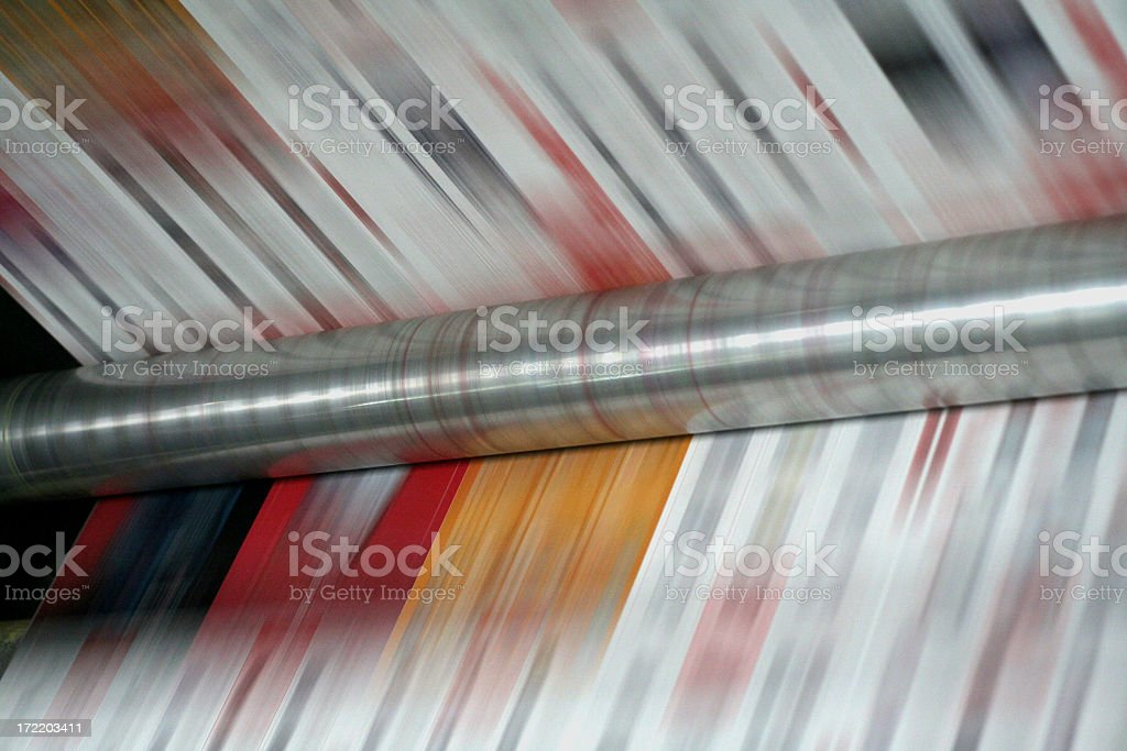 speed of print royalty-free stock photo