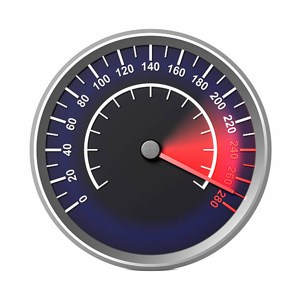 Speed Speedometer stock photo