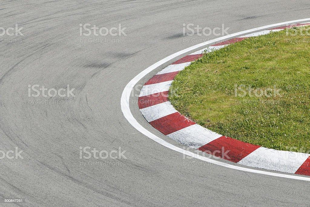Speed track. stock photo