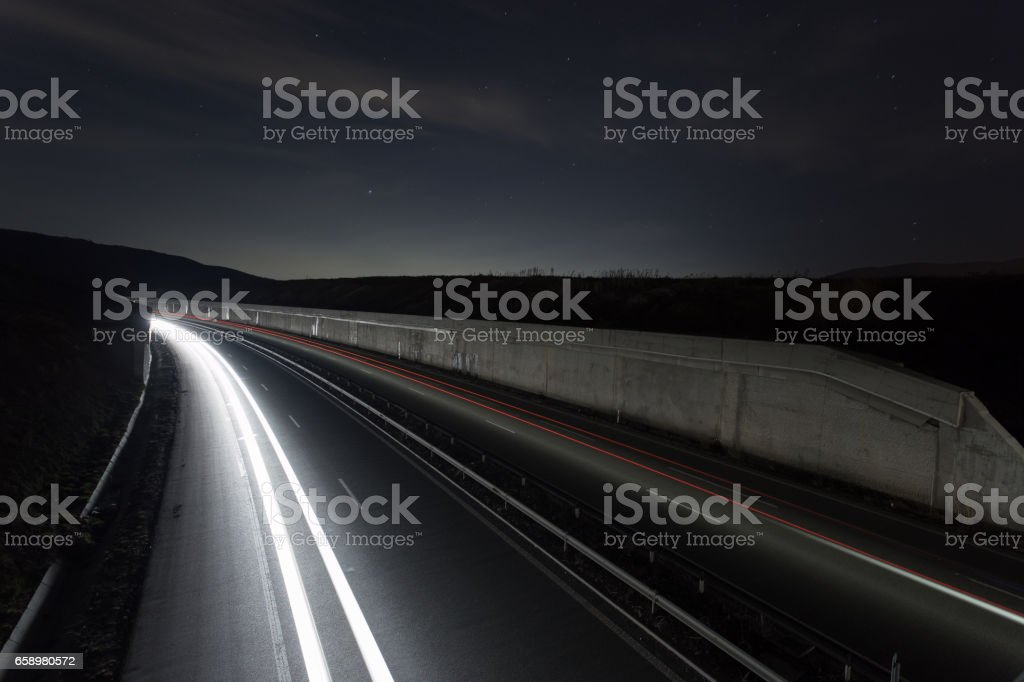 Speed Traffic royalty-free stock photo