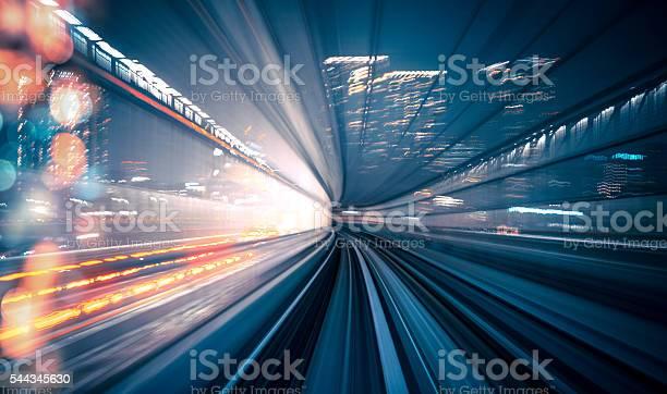 Photo of Speed - Train in Tokyo