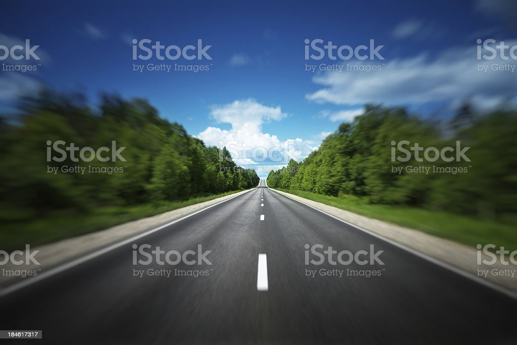 Speed Up royalty-free stock photo