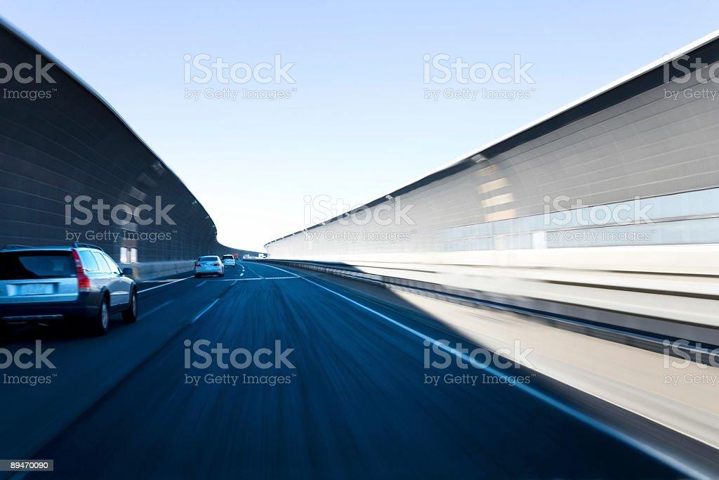 Speed way royalty-free stock photo