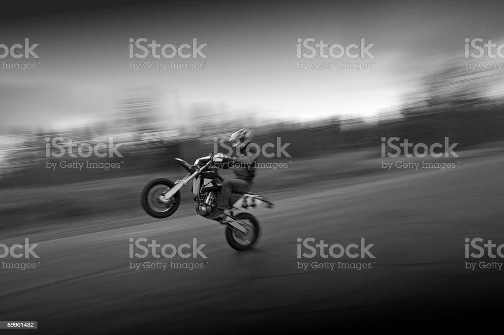 Speed Wheely royalty-free stock photo