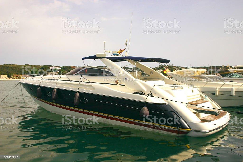 Speedboat royalty-free stock photo