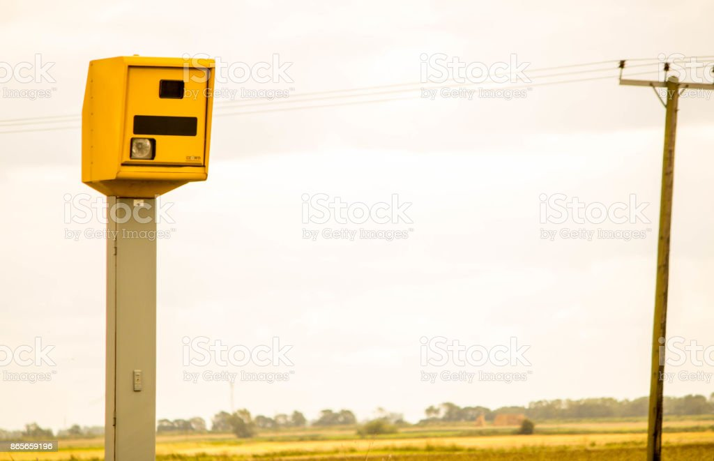 Speeding Camera stock photo