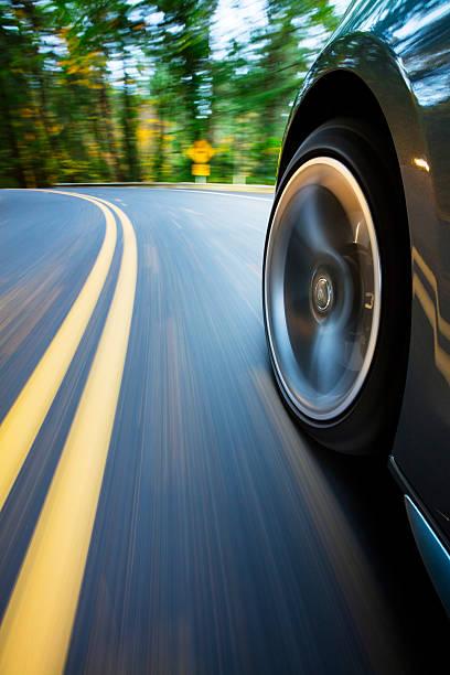 Beschleunigung der Ecke. – Foto