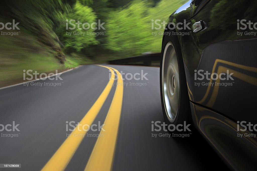 Speeding royalty-free stock photo