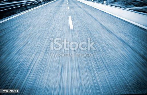 Blured image speeding