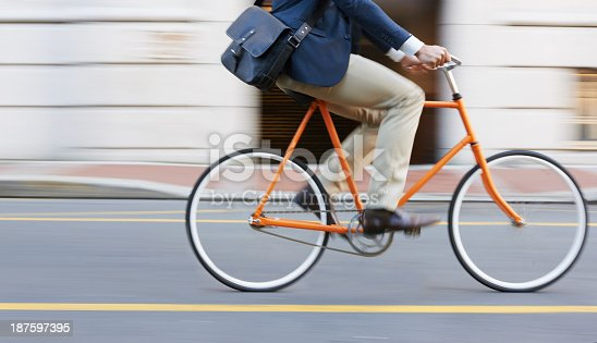 istock Speeding through the streets 187597395