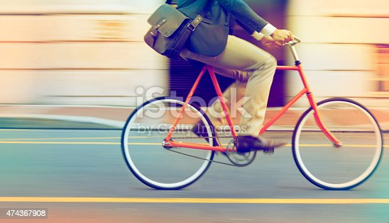 istock Speeding through the streets 474367908