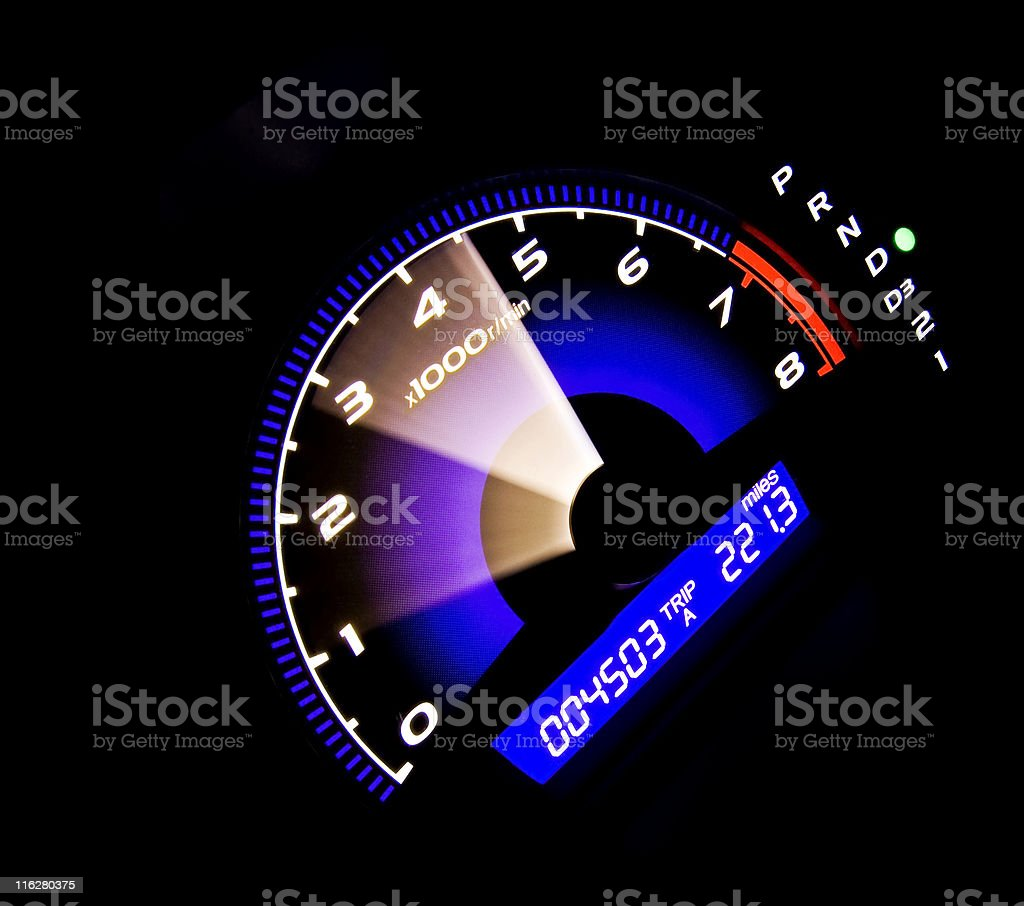 Speeding Up royalty-free stock photo