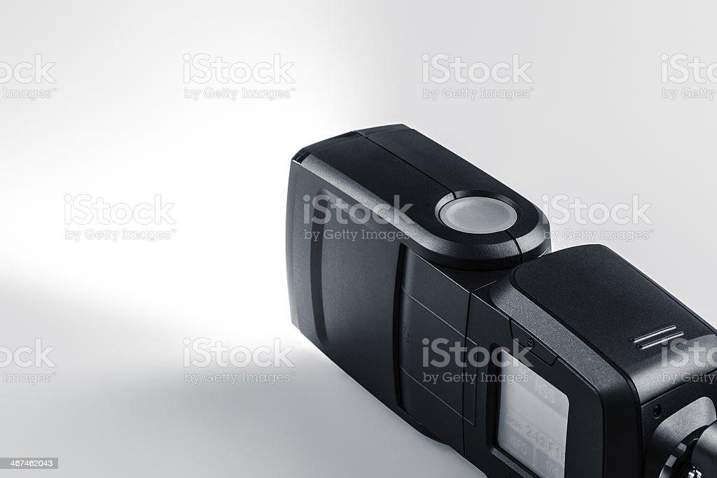 Speedlight stock photo