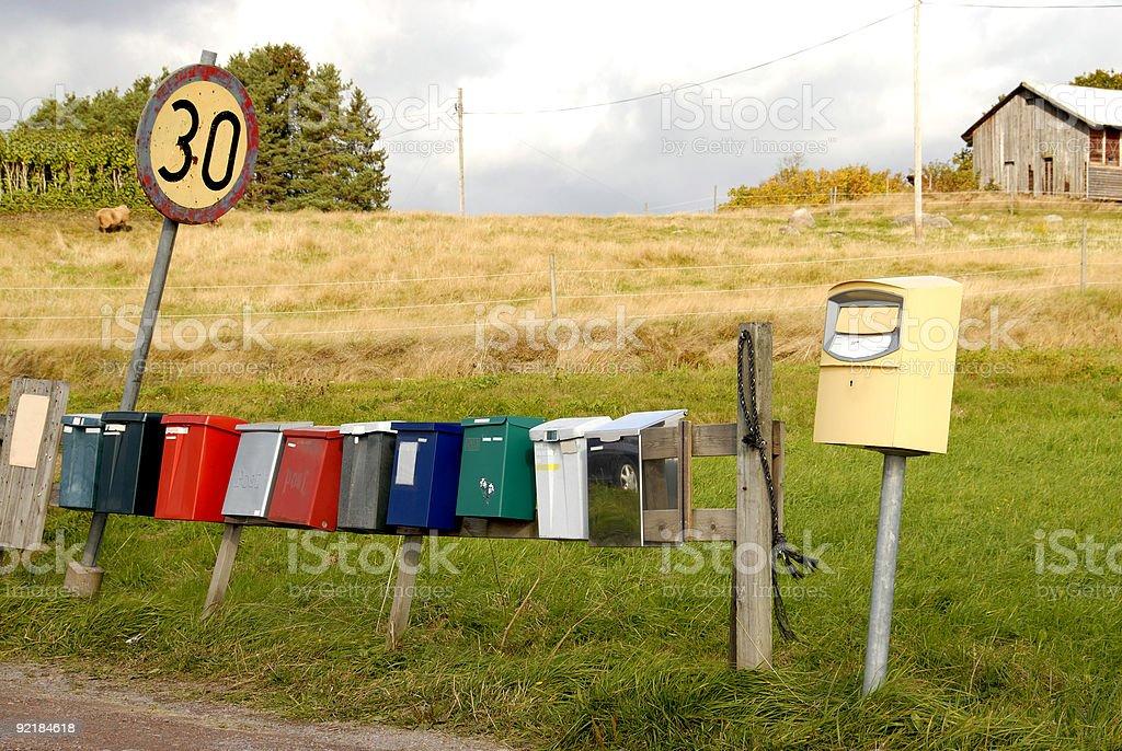 Speed-limit stock photo