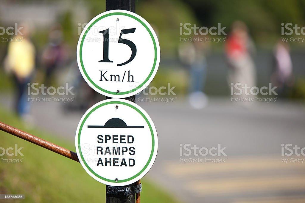 Speedlimit Sign stock photo