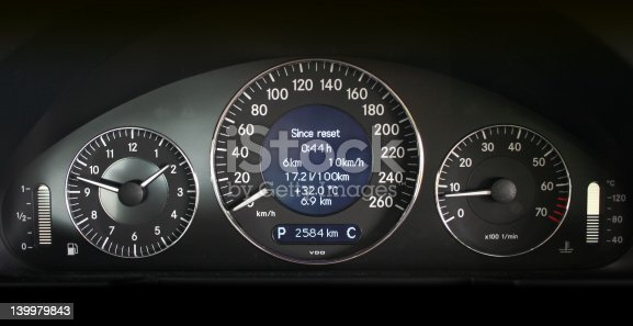 Another speedometer design