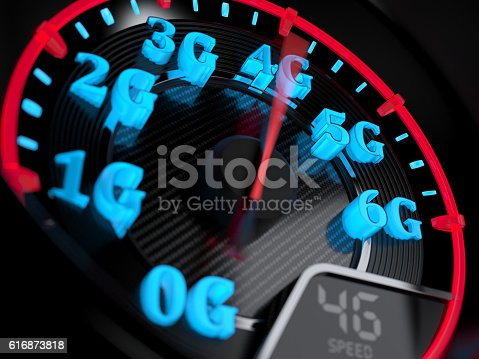 istock Speedometer 4G evolution 616873818