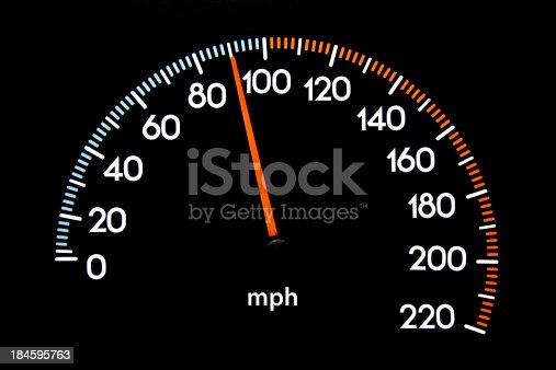 istock Speedometer 90 mph 184595763