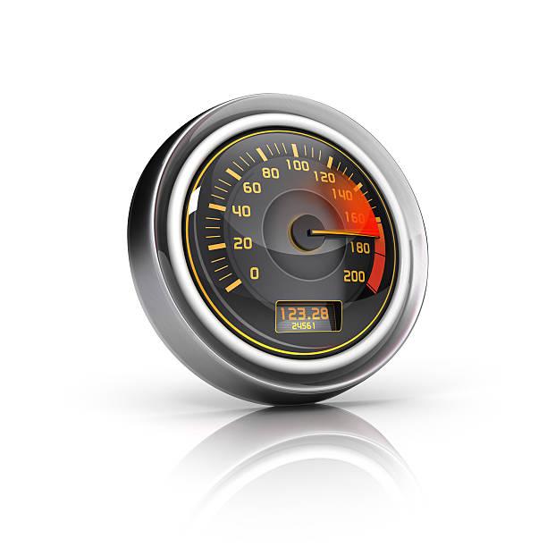Speedometer Gauge icon stock photo