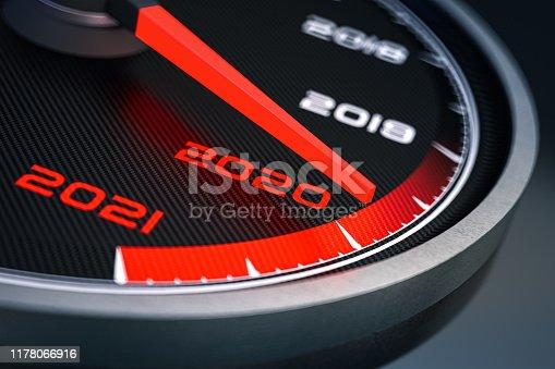 2020 Speedometer