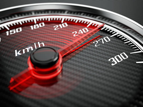 speedometer - motorbike racing stock photos and pictures