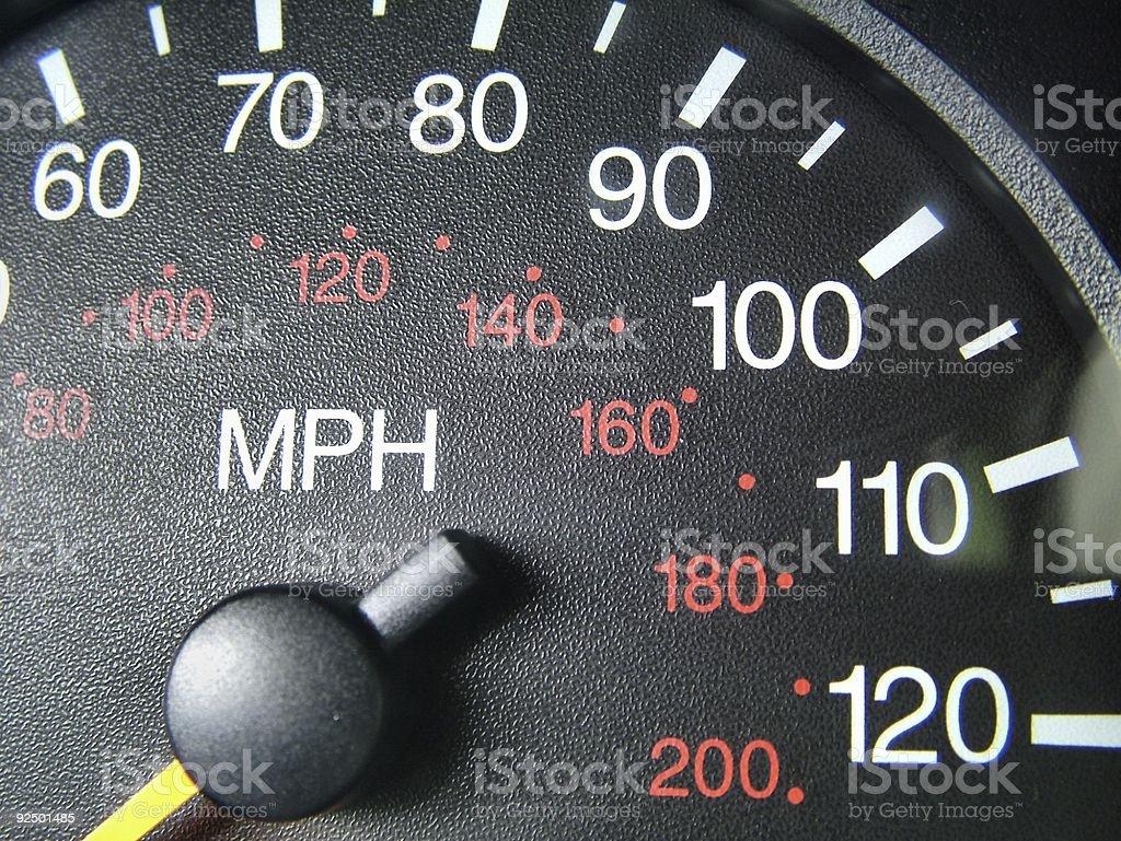Speedometer royalty-free stock photo