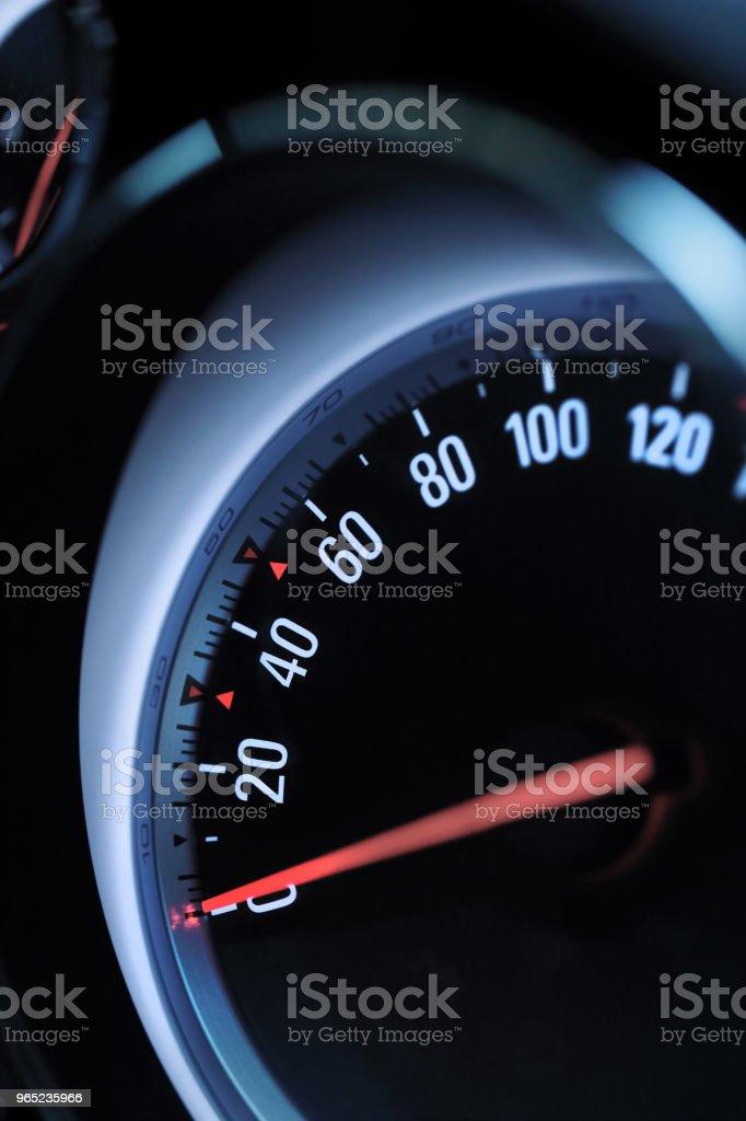 Speedometer zbiór zdjęć royalty-free