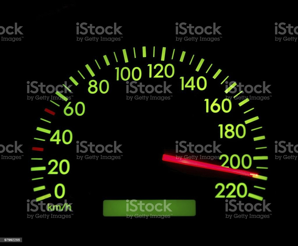 Speedometer royalty free stockfoto