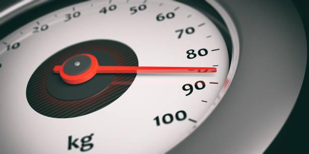 tacho - indikator. 3d illustration - gewicht schnell verlieren stock-fotos und bilder