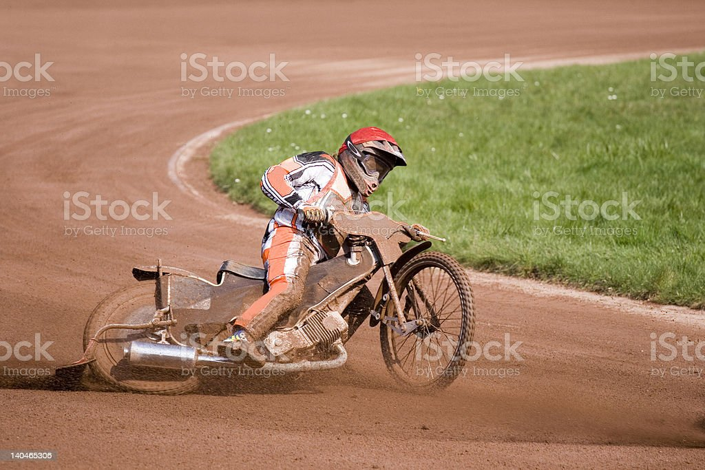 Speedway royalty-free stock photo