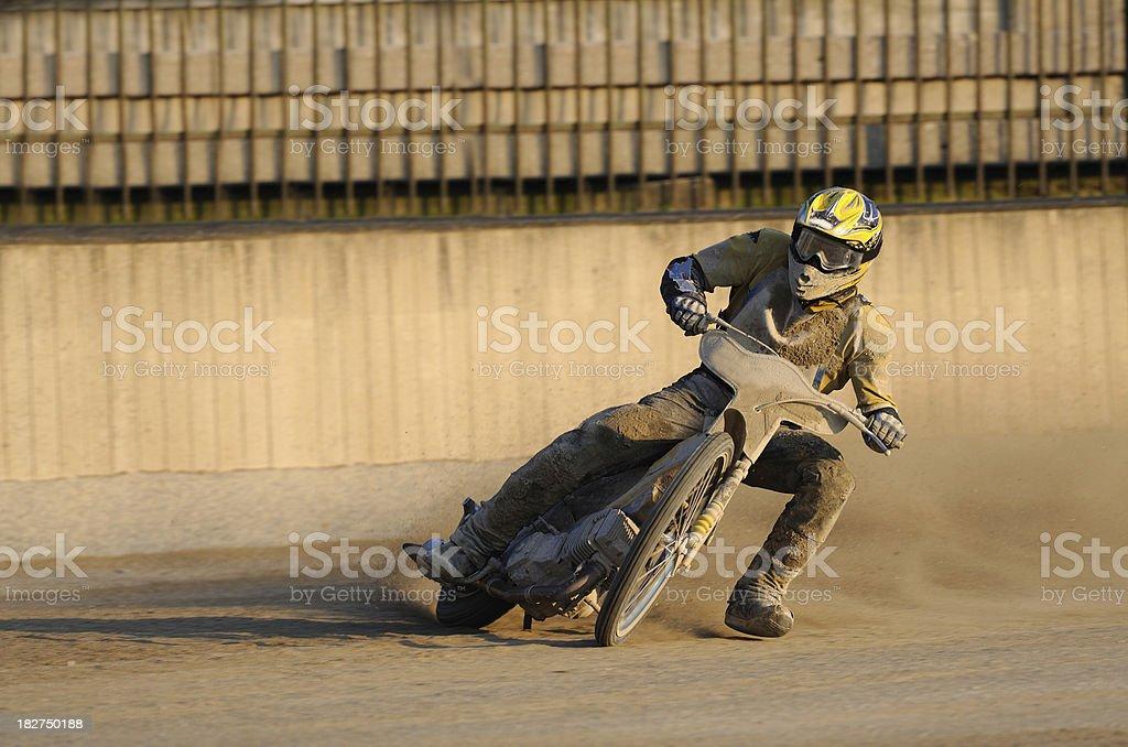 Speedway race stock photo