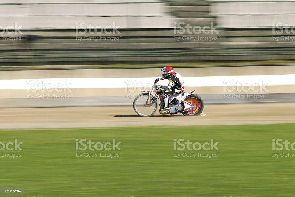 Speedway racing royalty-free stock photo