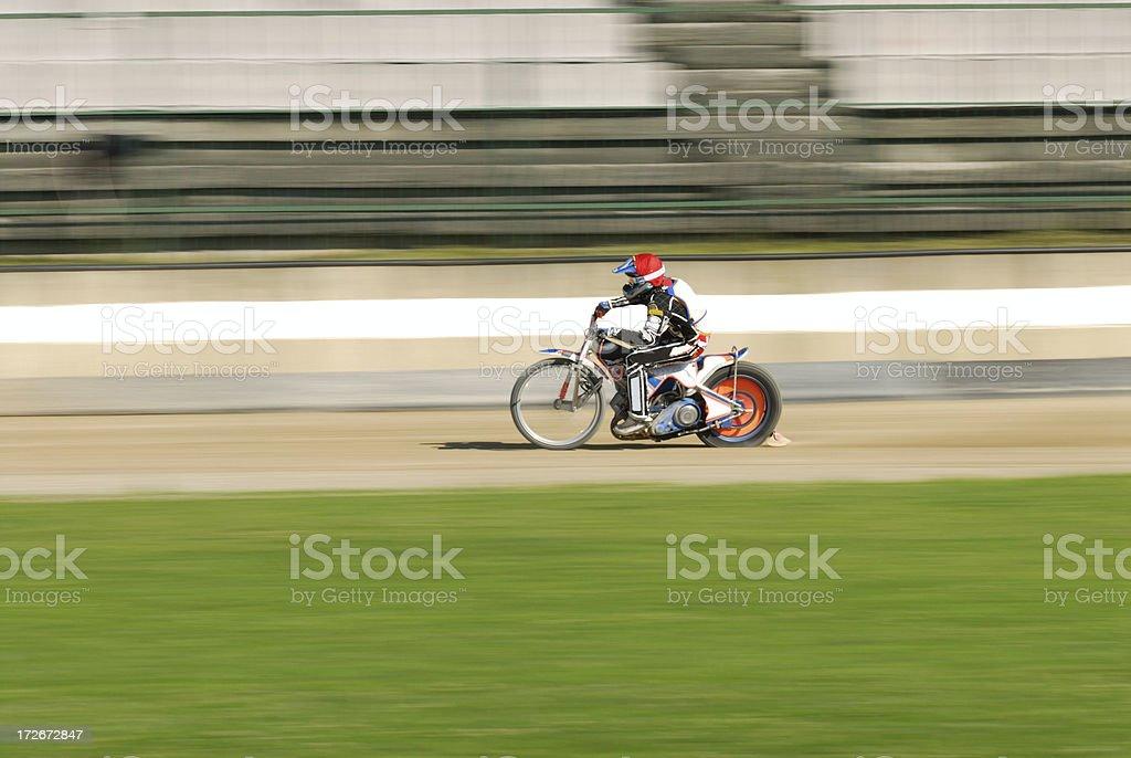 Speedway racing stock photo