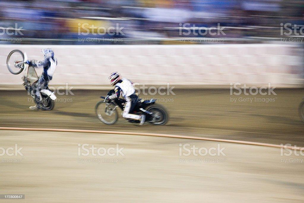 Speedway Stunt royalty-free stock photo