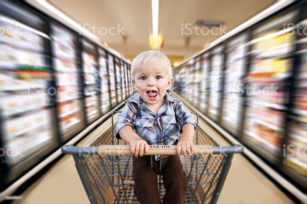 Speedy bambino - foto stock