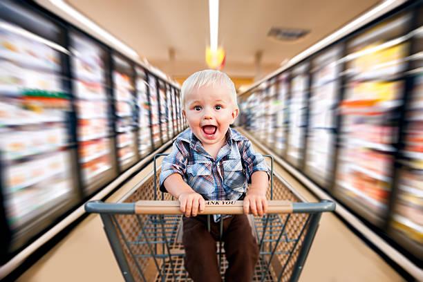 Speedy Baby stock photo