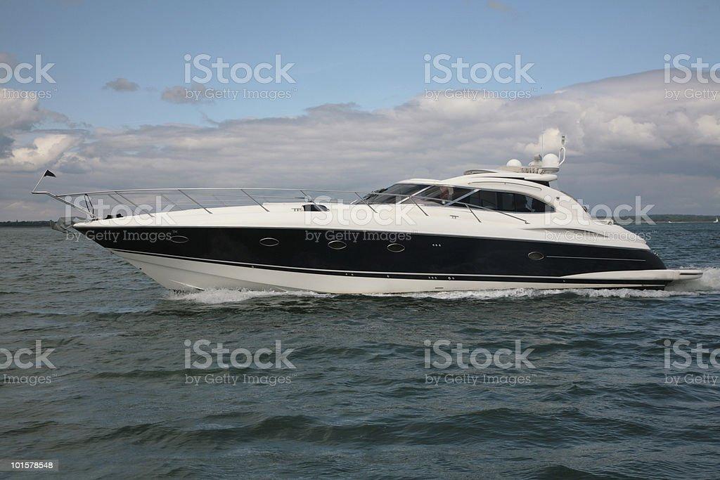 Speedy Boat royalty-free stock photo