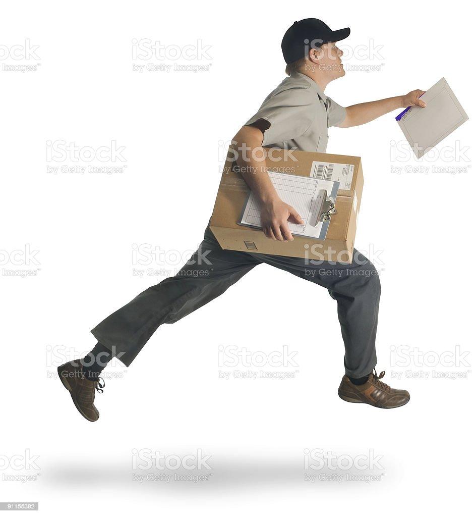Speedy Delivery stock photo