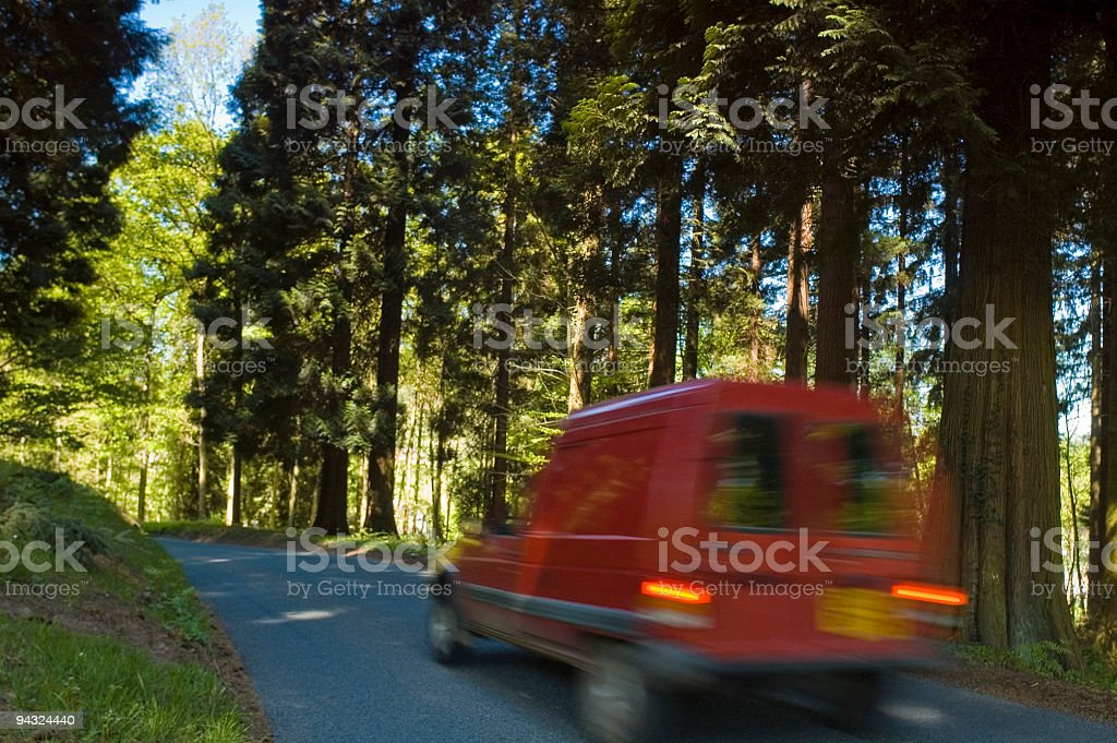 Speedy delivery royalty-free stock photo