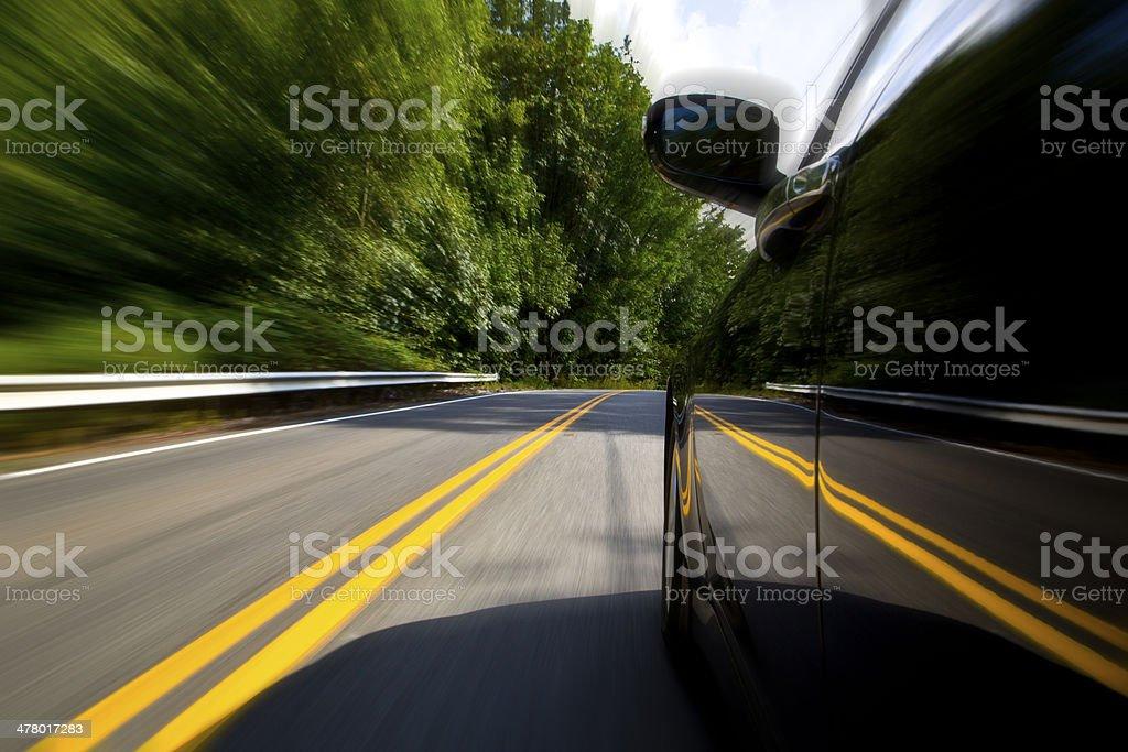 Speedy Driving stock photo