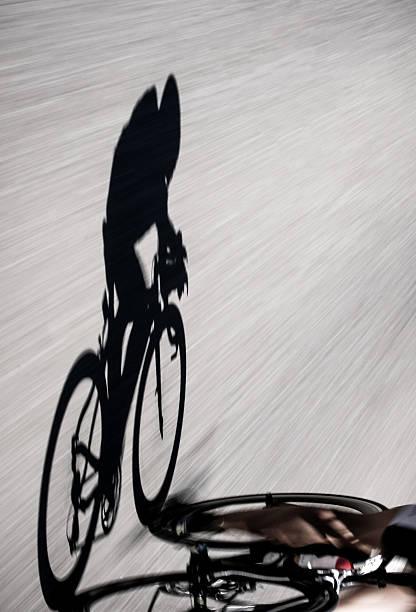 Speedy shadow stock photo