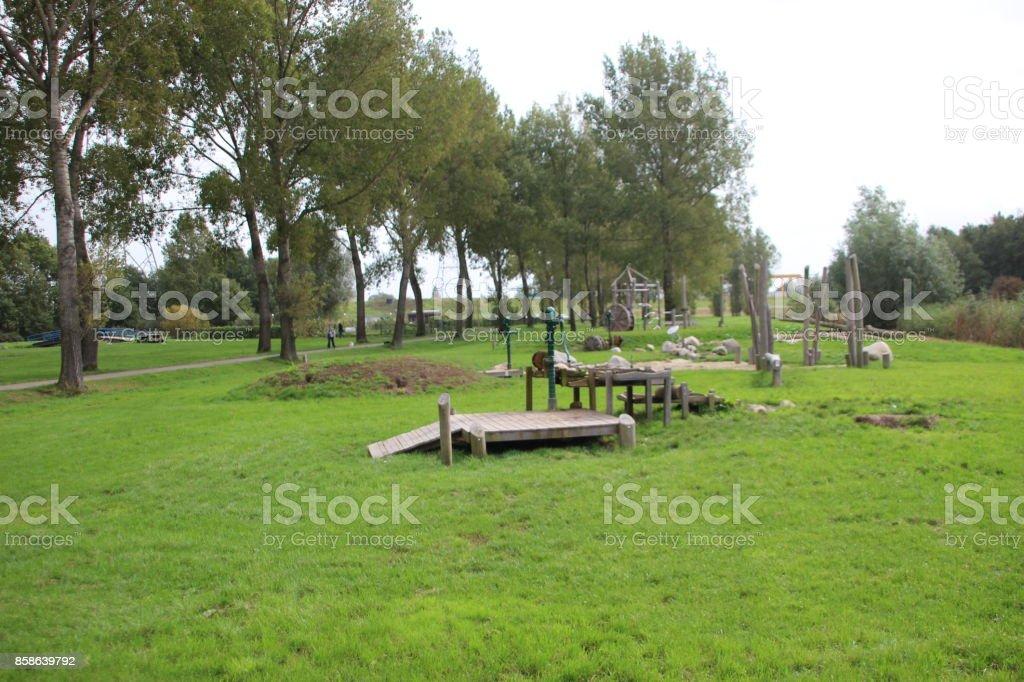 soprattutto in Park Hitland, Nederland foto