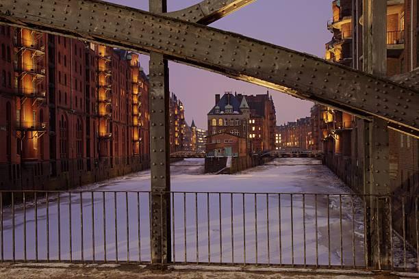 Speicherstadt stock photo