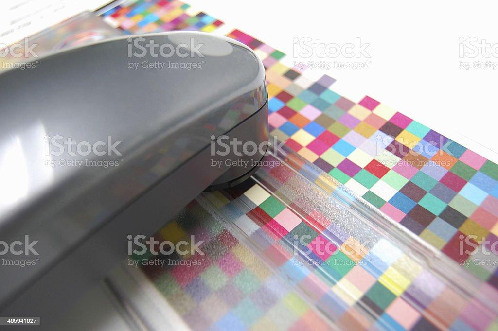 Spektralfotometer stock photo
