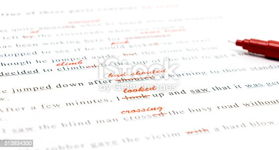 istock spelling check on English sentences 513934300