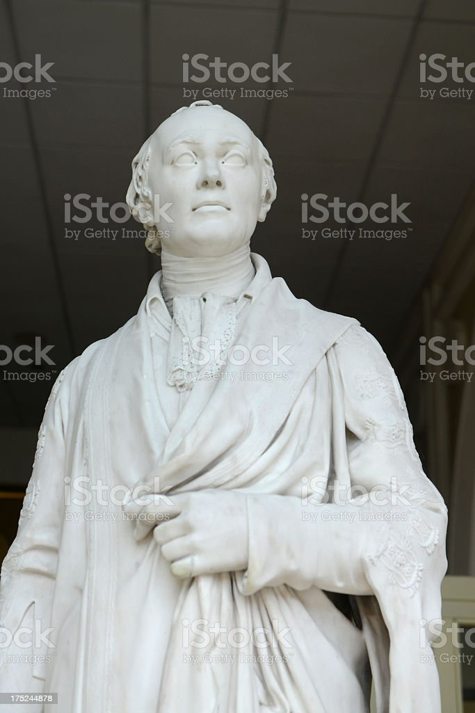 Spencer Percival Statue. stock photo