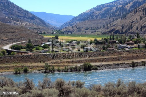 The small community of Spences Bridge is located in the Fraser Canyon of British Columbia on the Thompson River.  Near Merritt,Cache Creek ,Lillouet,and Ashcroft.