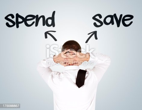 istock Spend or Save 175588857