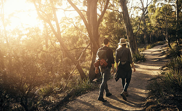 spending a weekend in the wilderness - tasmania stock photos and pictures