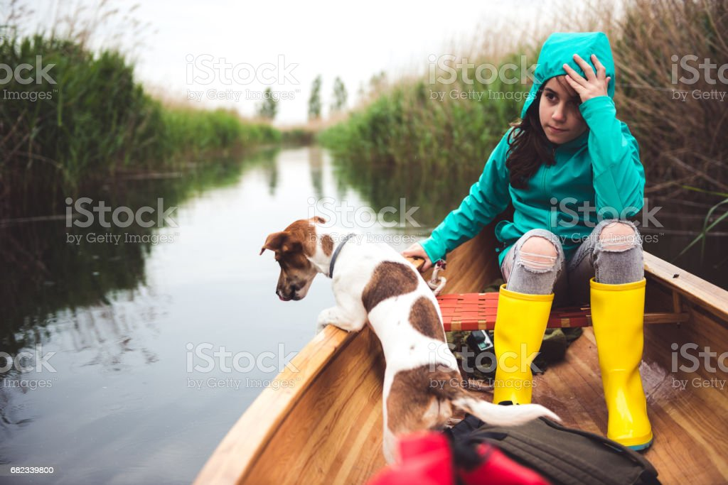 Dagje aan het meer royalty free stockfoto